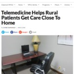 Telemedicine Helps Rural Patients Get Care Close To Home
